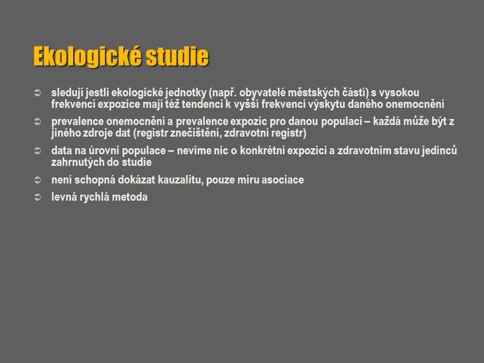 Ekologické studie