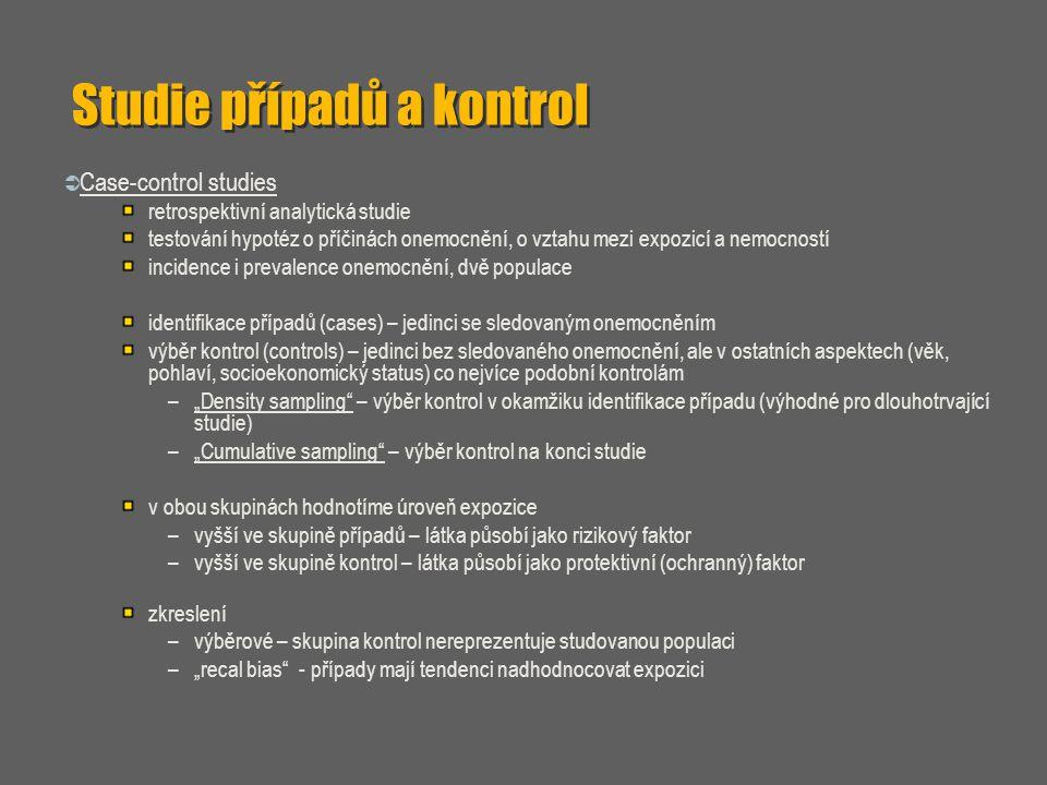 Studie případů a kontrol