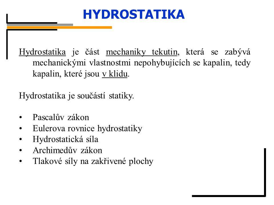 HYDROSTATIKA