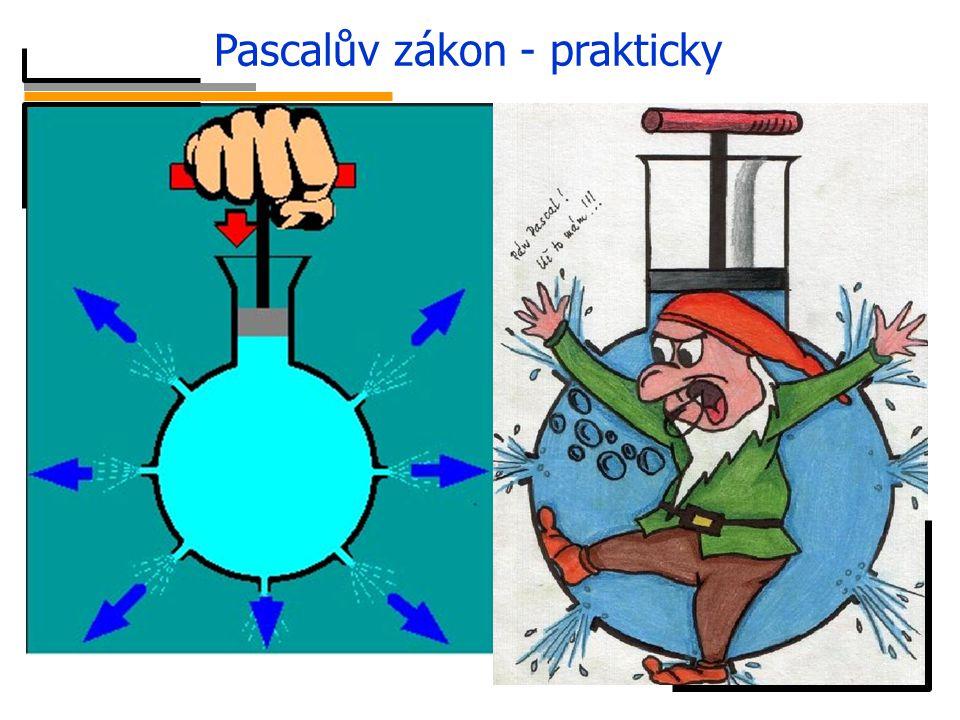 Pascalův zákon - prakticky