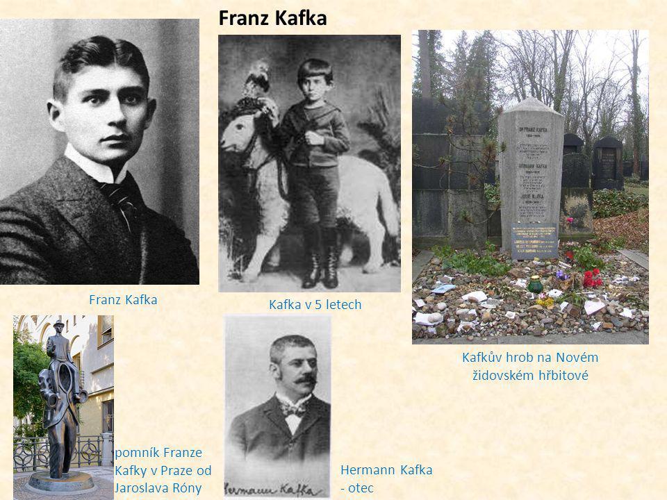 Kafkův hrob na Novém židovském hřbitové
