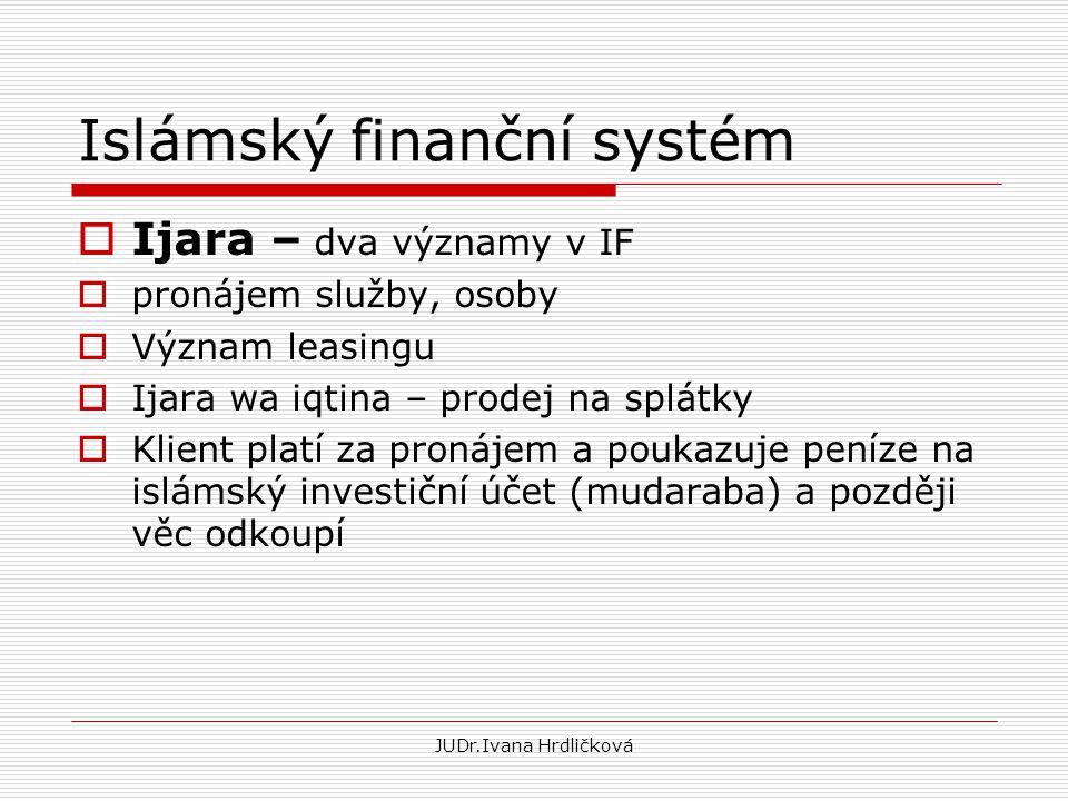 Islámský finanční systém