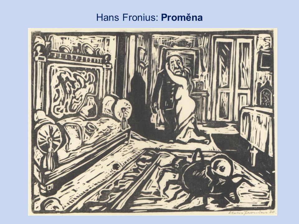 Hans Fronius: Proměna