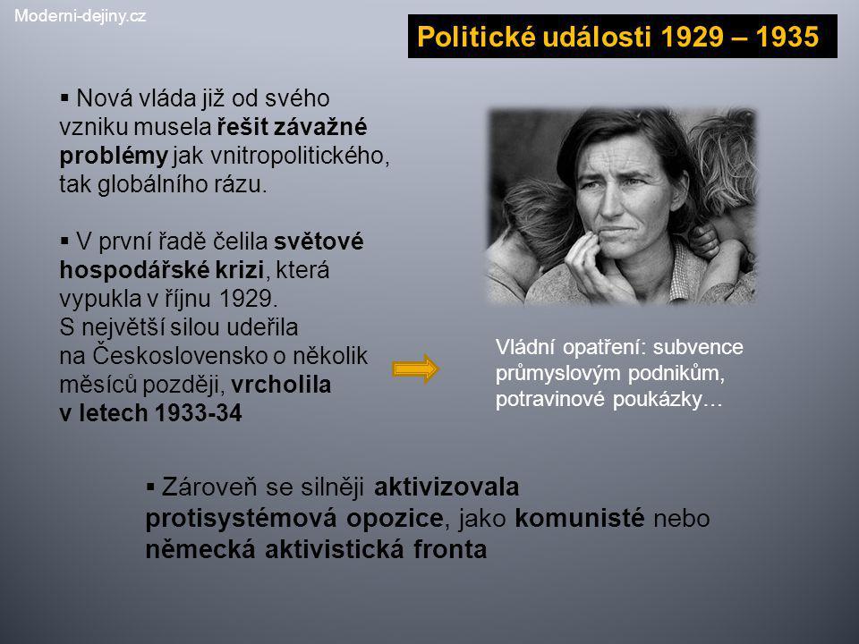 Moderni-dejiny.cz Politické události 1929 – 1935.