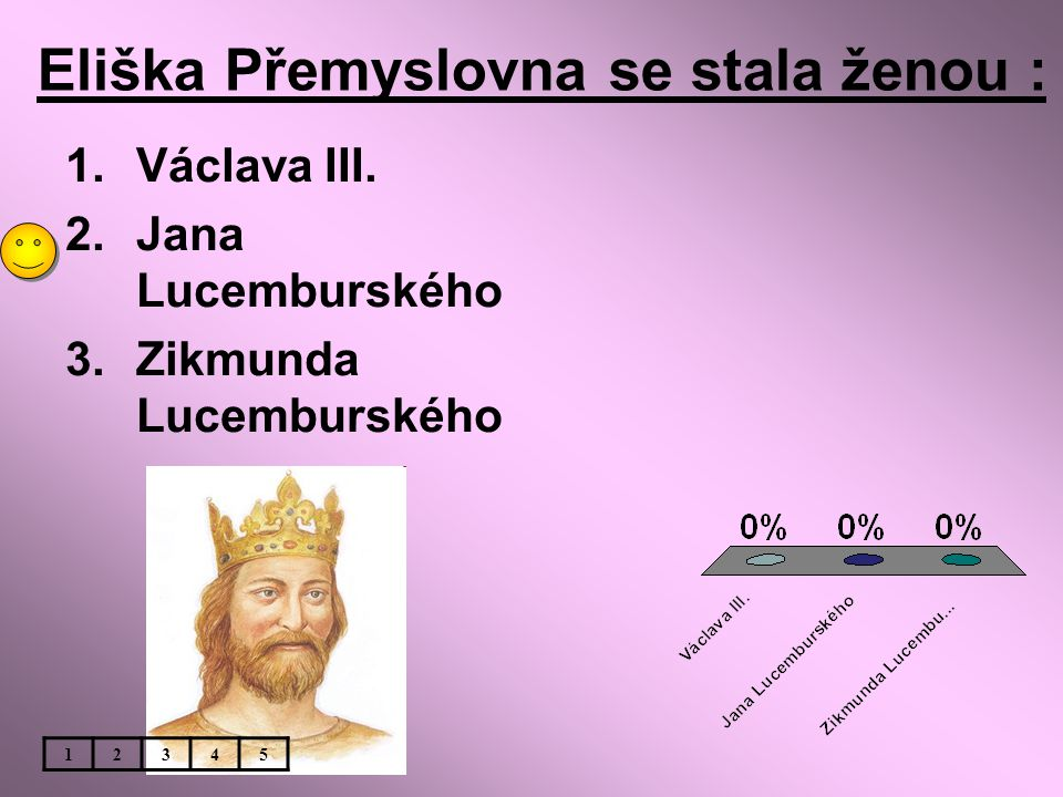Eliška Přemyslovna se stala ženou :