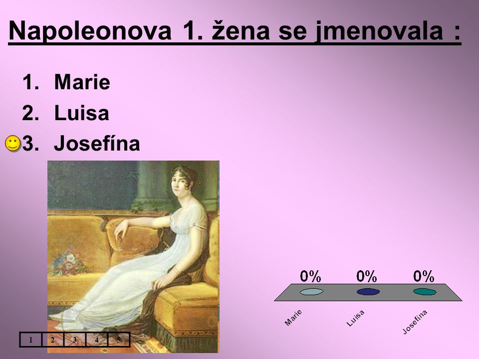 Napoleonova 1. žena se jmenovala :
