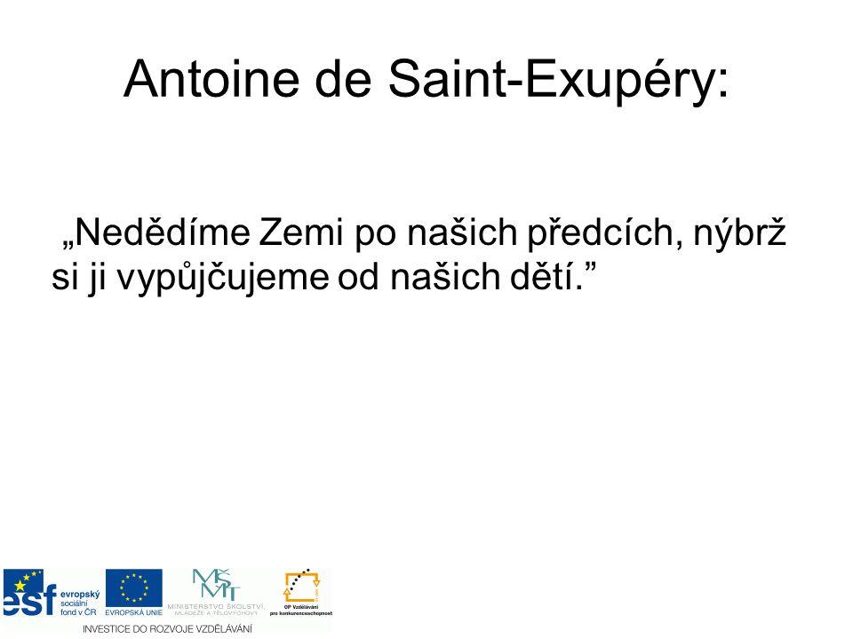 Antoine de Saint-Exupéry: