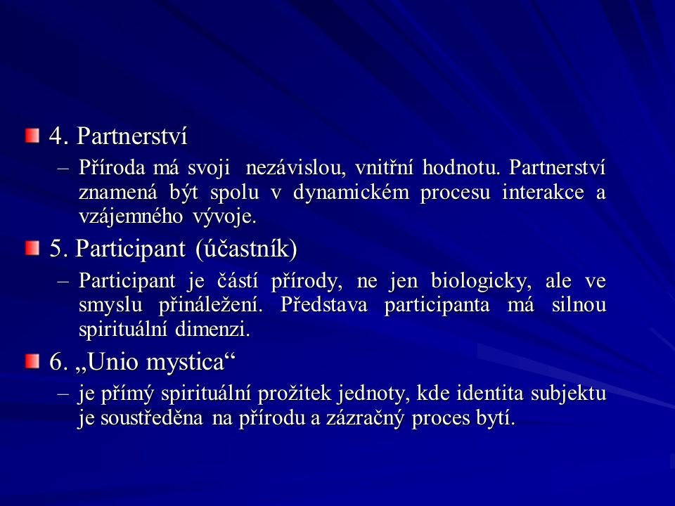 5. Participant (účastník)