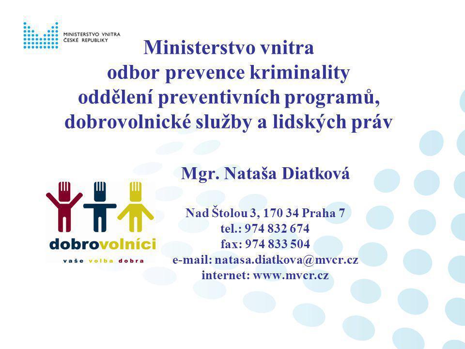 e-mail: natasa.diatkova@mvcr.cz