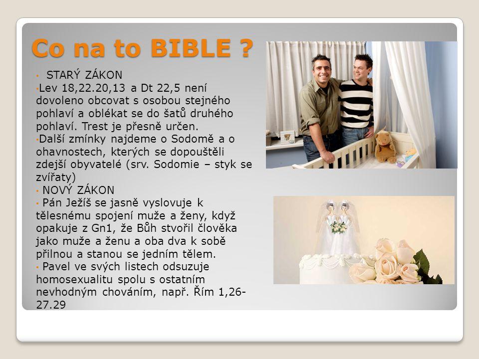 Co na to BIBLE STARÝ ZÁKON