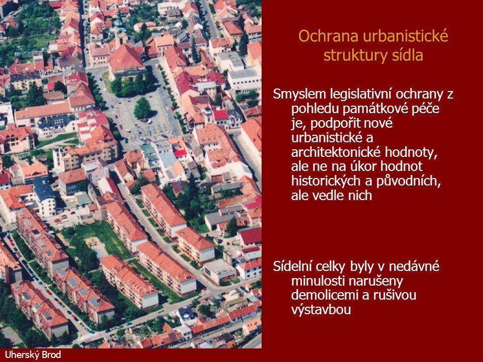 Ochrana urbanistické struktury sídla
