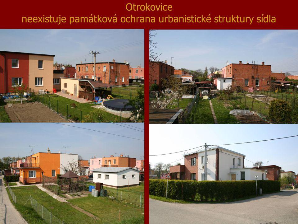 Otrokovice neexistuje památková ochrana urbanistické struktury sídla