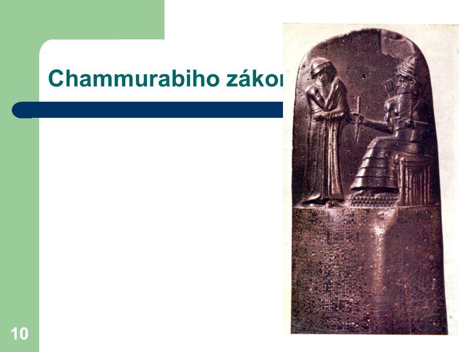 Chammurabiho zákoník