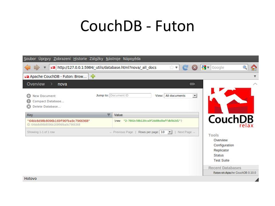 CouchDB - Futon