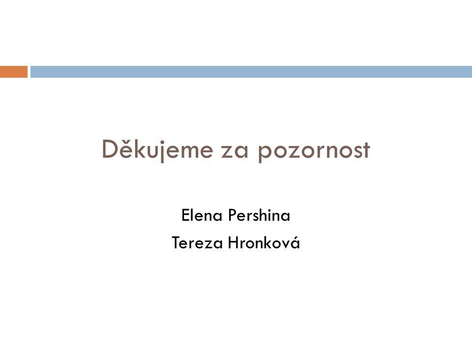 Elena Pershina Tereza Hronková