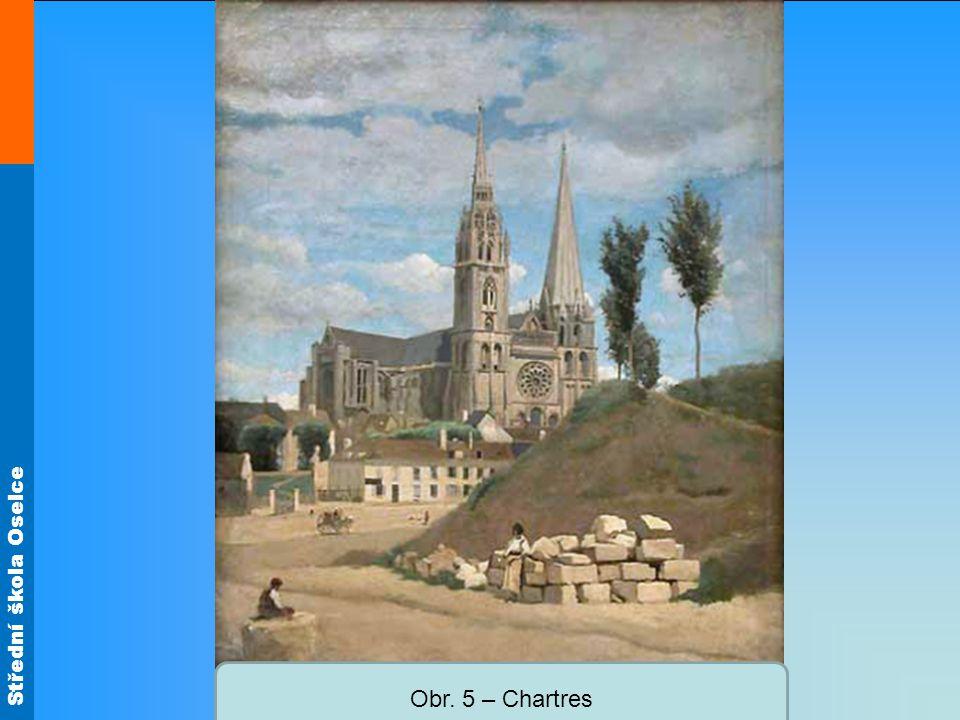 Obr. 5 – Chartres
