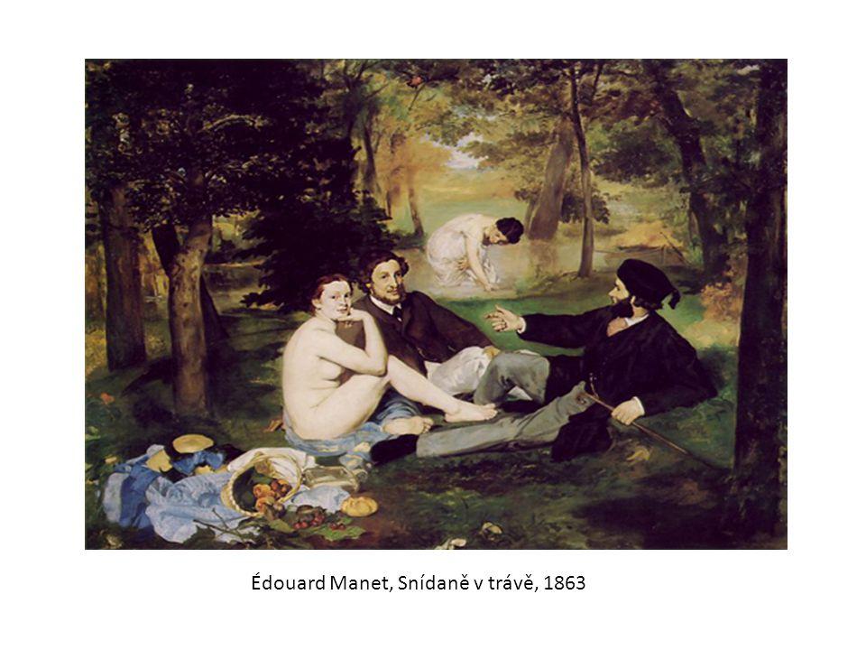 Édouard Manet, Snídaně v trávě, 1863