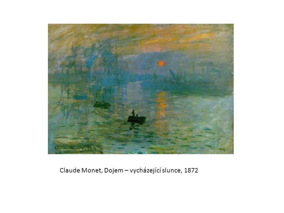 Claude Monet, Dojem – vycházející slunce, 1872