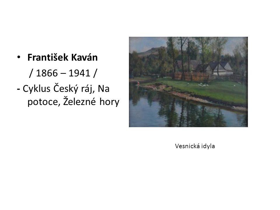 - Cyklus Český ráj, Na potoce, Železné hory