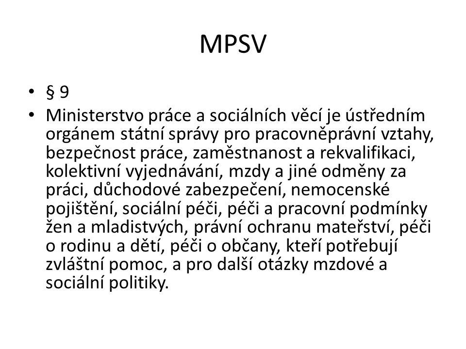 MPSV § 9.