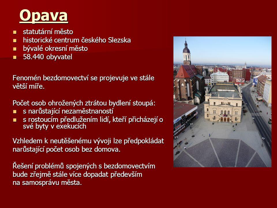 Opava statutární město historické centrum českého Slezska