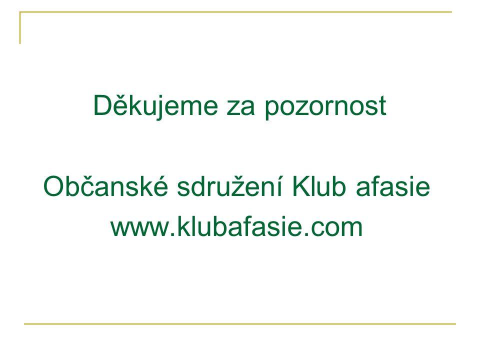 Občanské sdružení Klub afasie