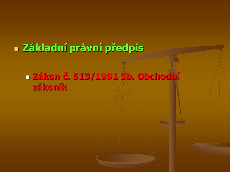 Základní právní předpis