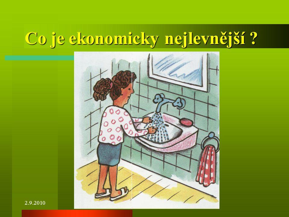 Co je ekonomicky nejlevnější