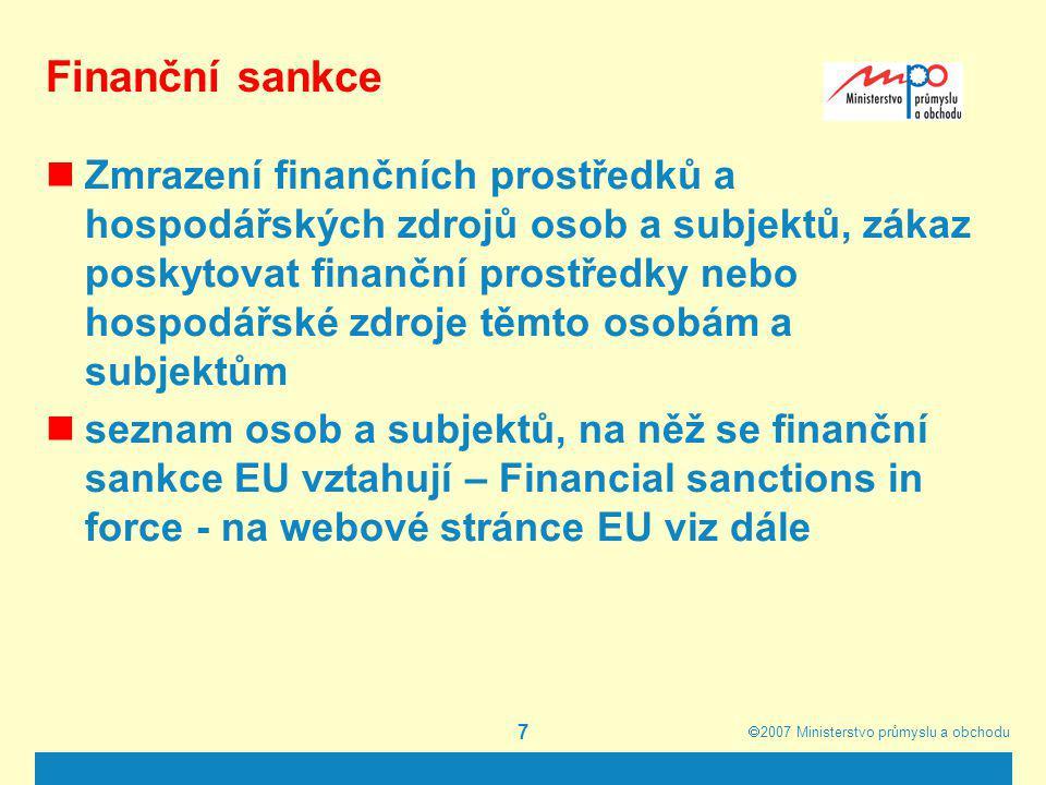Finanční sankce