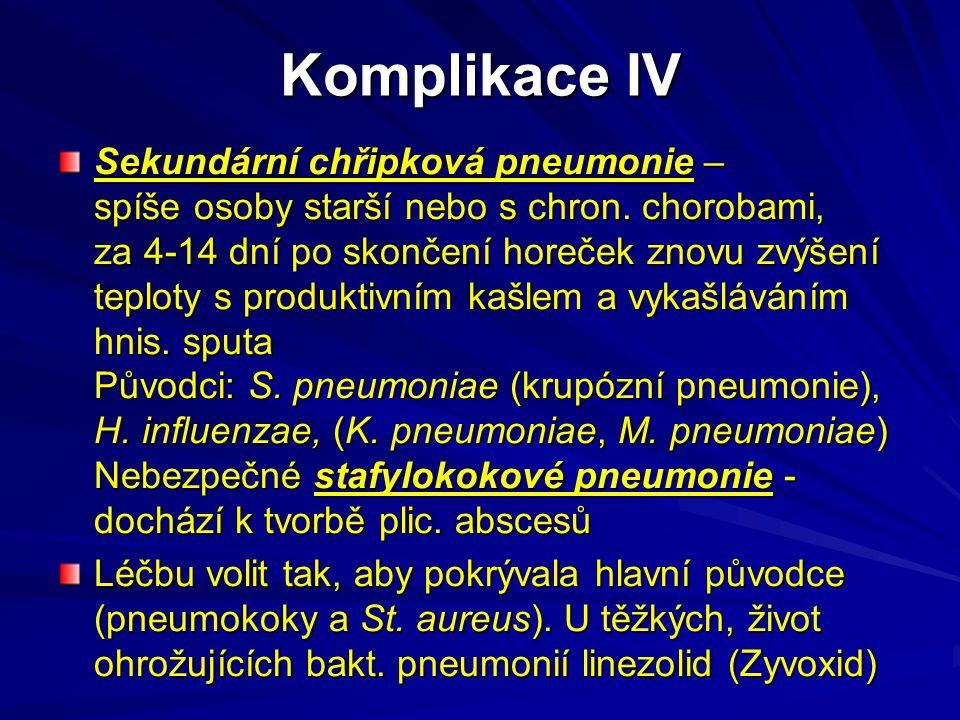 Komplikace IV