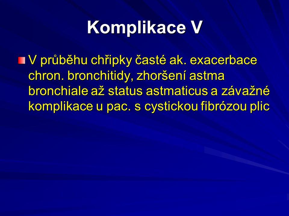 Komplikace V