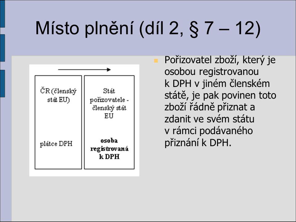 Místo plnění (díl 2, § 7 – 12)