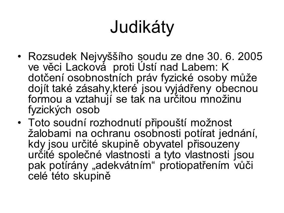 Judikáty