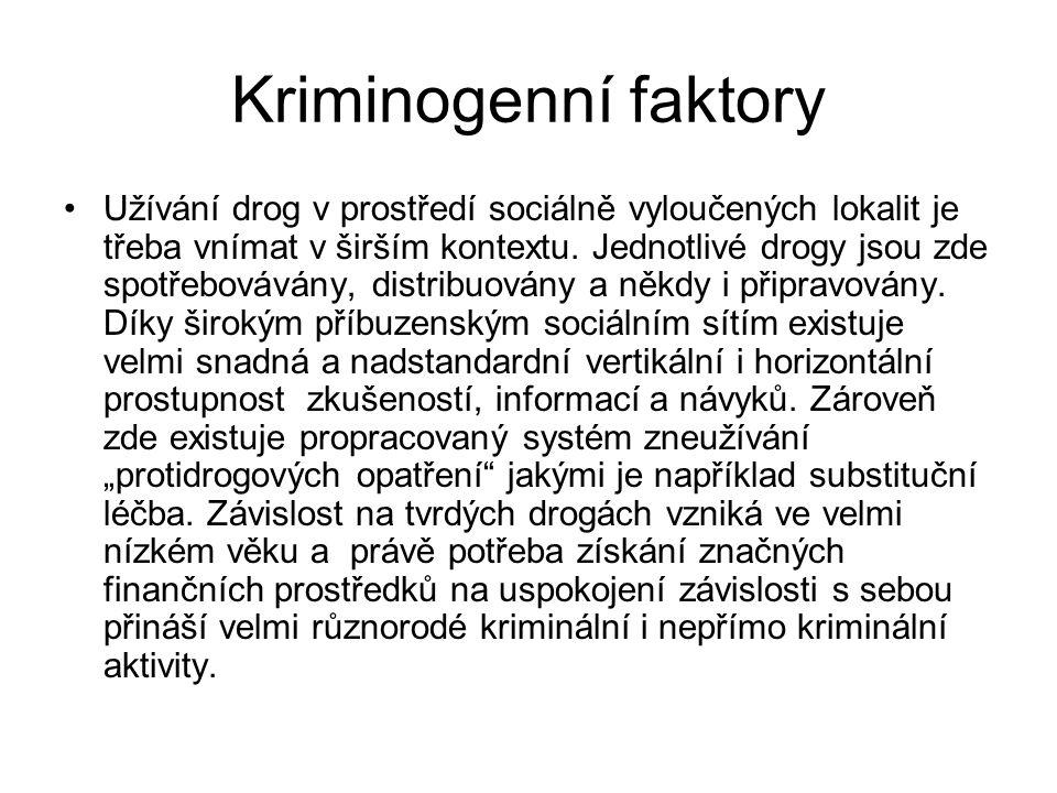 Kriminogenní faktory