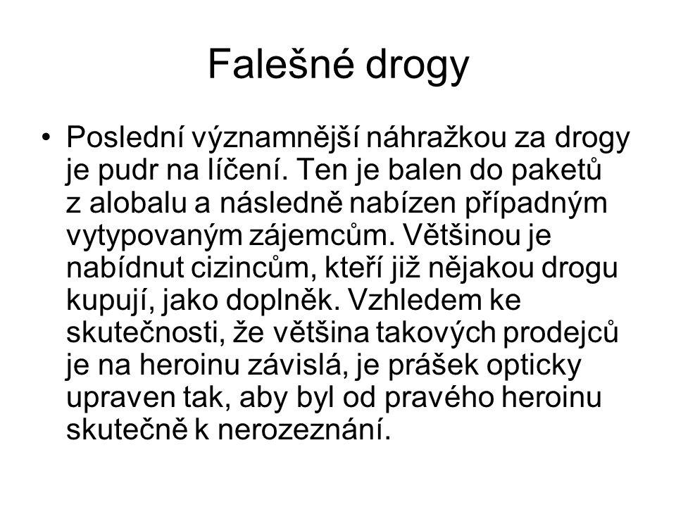 Falešné drogy