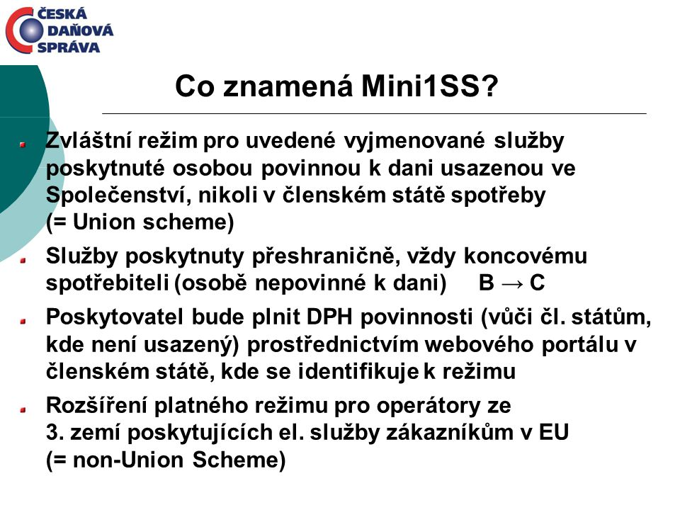 Co znamená Mini1SS