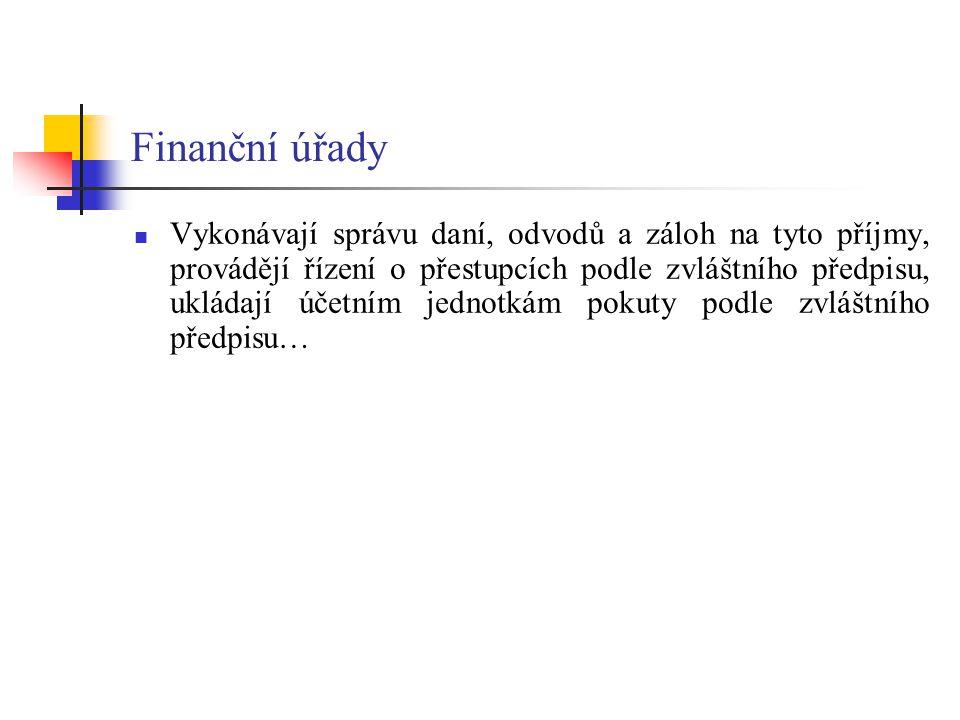 Finanční úřady