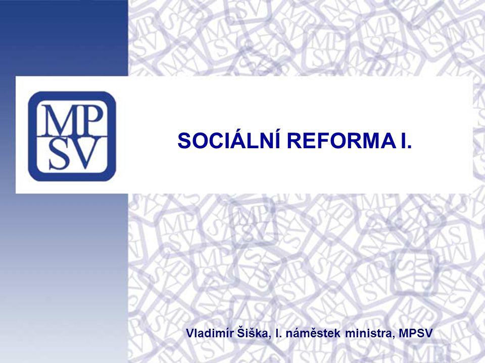 Vladimír Šiška, I. náměstek ministra, MPSV