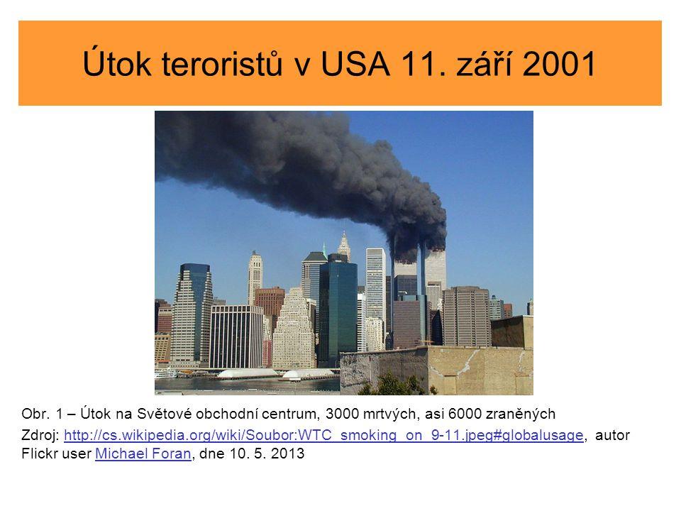 Útok teroristů v USA 11. září 2001