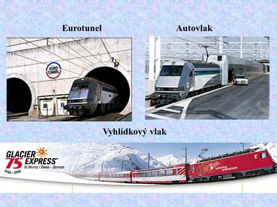 Eurotunel Autovlak Vyhlídkový vlak