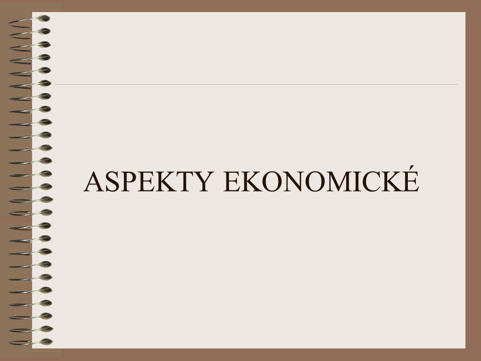 ASPEKTY EKONOMICKÉ