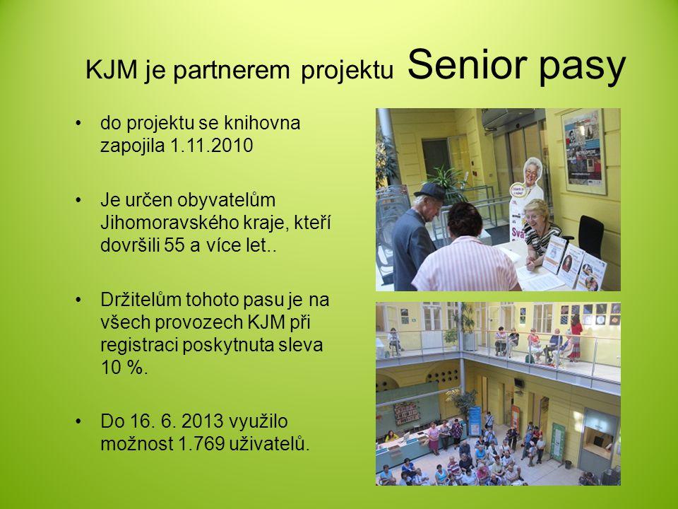 KJM je partnerem projektu Senior pasy