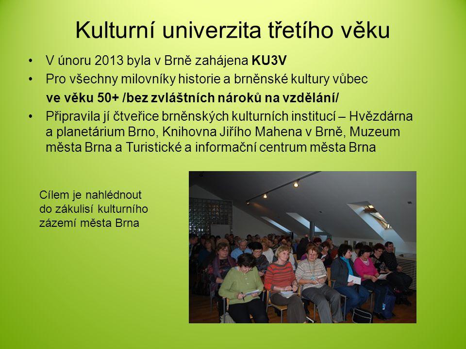 Kulturní univerzita třetího věku