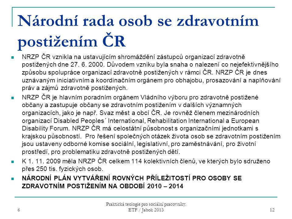 Národní rada osob se zdravotním postižením ČR