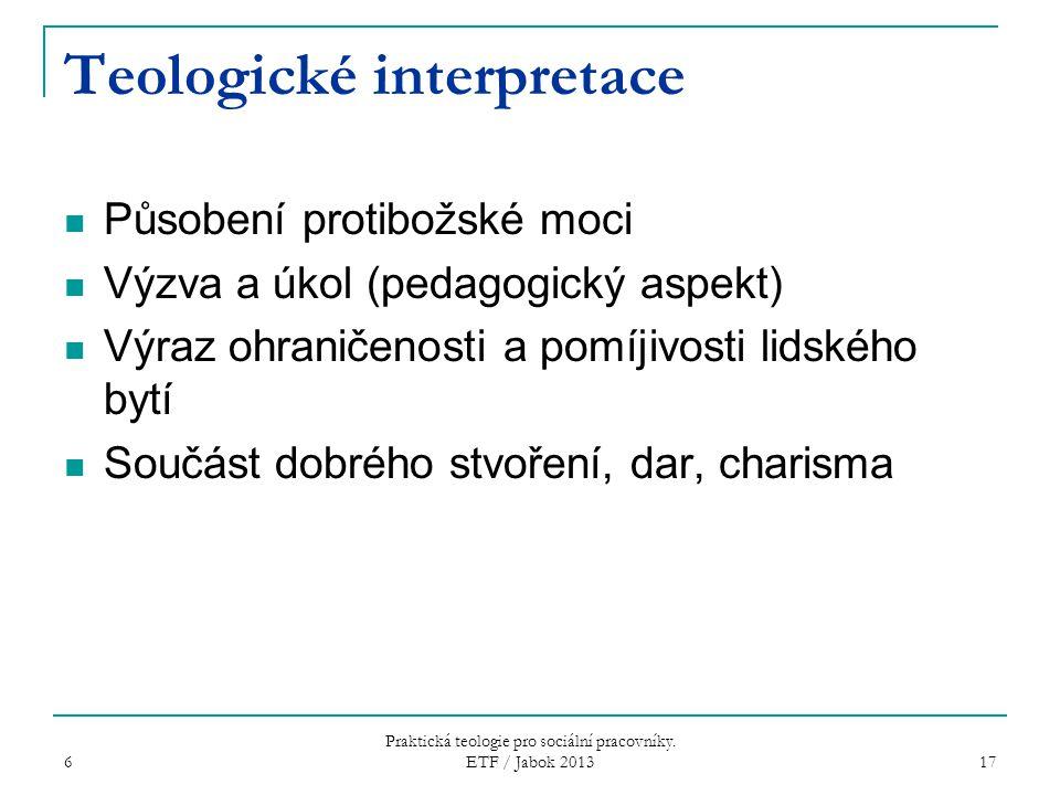 Teologické interpretace