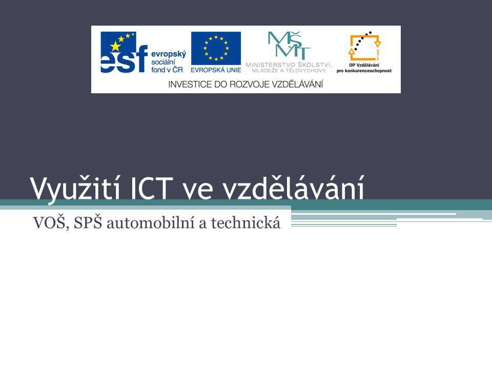 Využití ICT ve vzdělávání