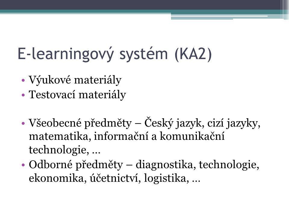 E-learningový systém (KA2)