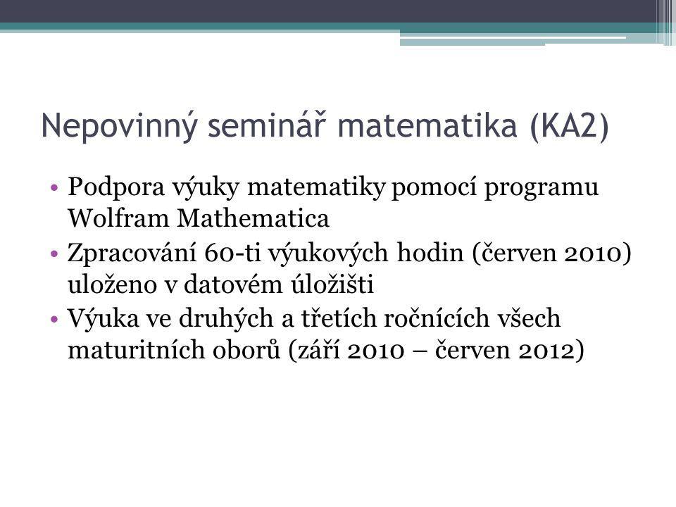 Nepovinný seminář matematika (KA2)