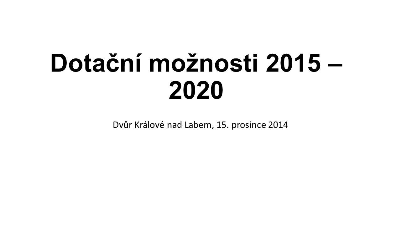 Dvůr Králové nad Labem, 15. prosince 2014