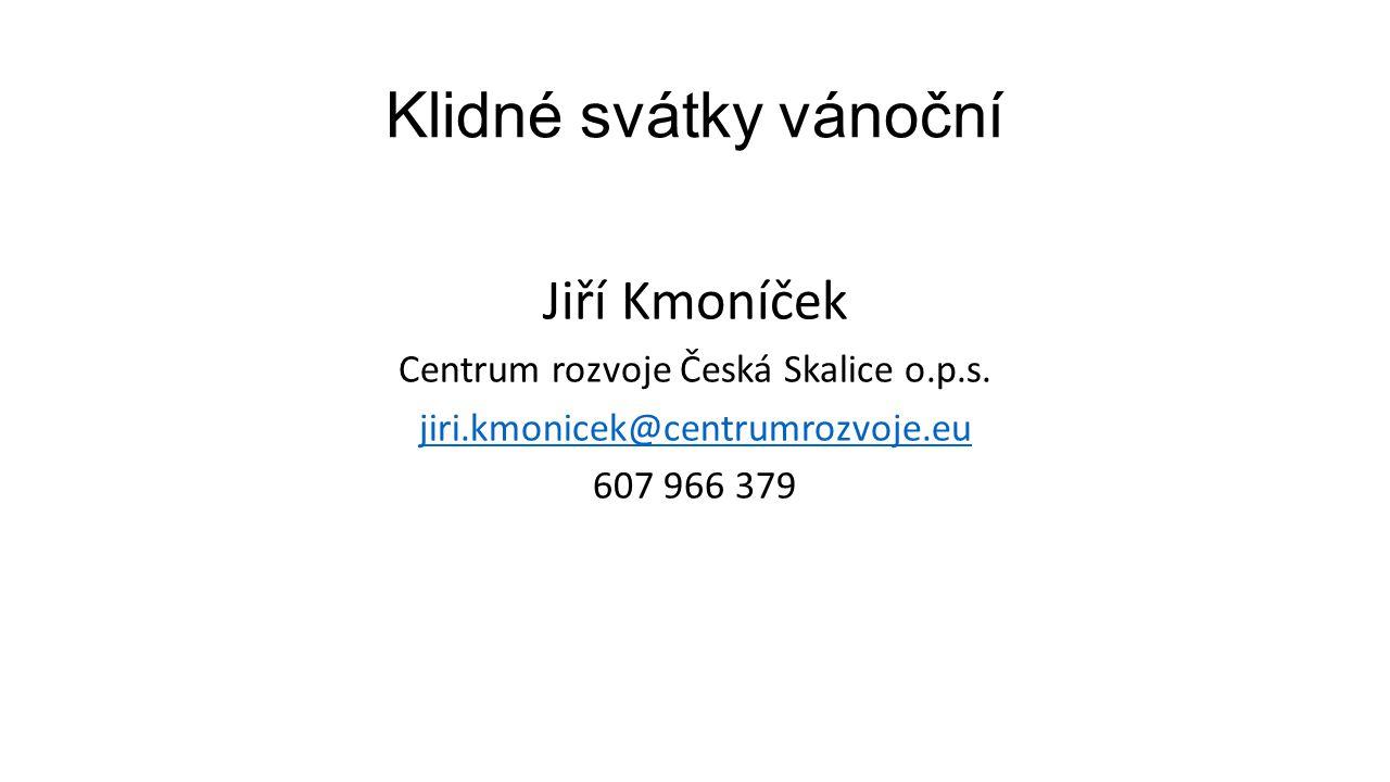 Centrum rozvoje Česká Skalice o.p.s.